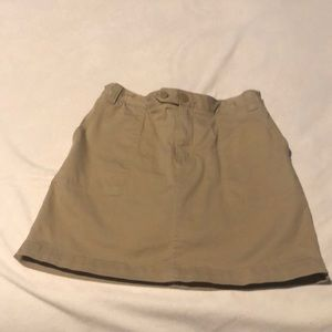 Lands End Uniform Skirt w/shorts